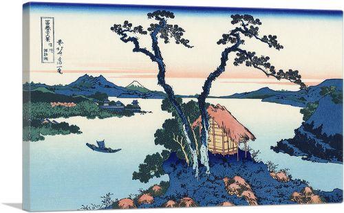 Lake Suwa in the Shinano Province 1830