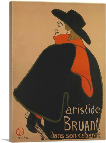 Aristide Bruant - at His Cabaret 1893
