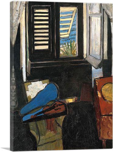 Interior With a Violin 1917