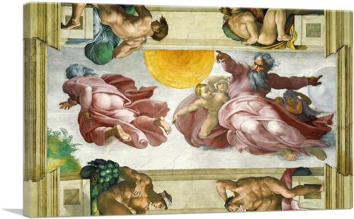 The Creation of the Sun, Moon and Vegetation 1511