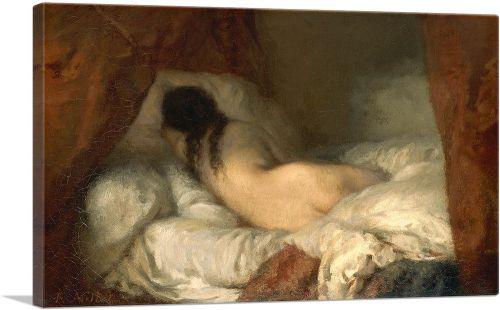 Reclining Female Nude 1845