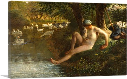 The Goose Girl 1863