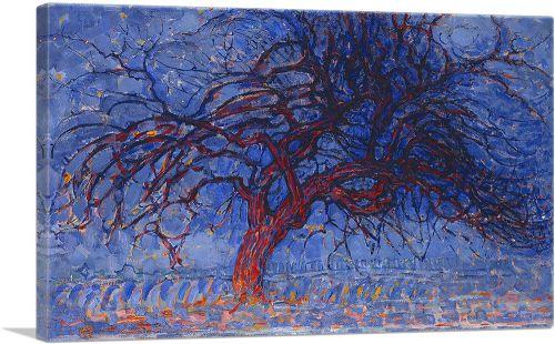 Evening - Red Tree 1908