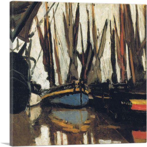Fishing Boats at Honfleur