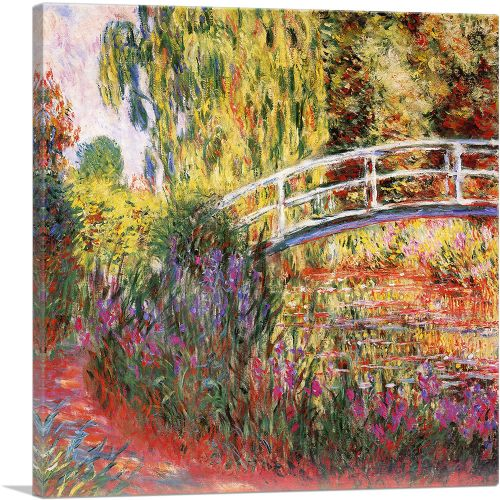 The Japanese Bridge - The Water-Lily Pond