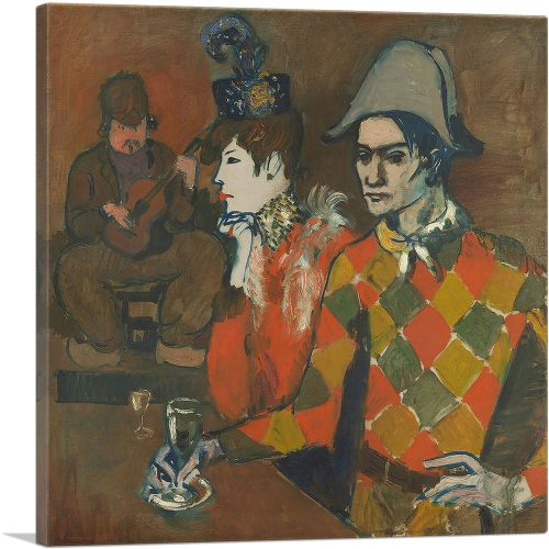 Harlequin with a Glass - Au Lapin Agile 1905
