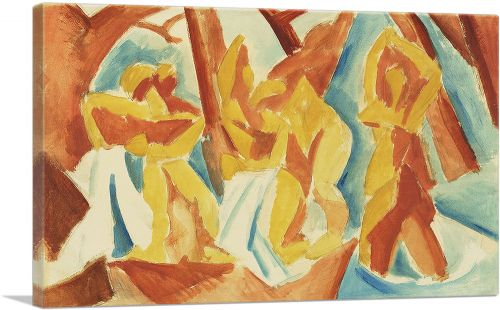 Bathers in a Forest 1908