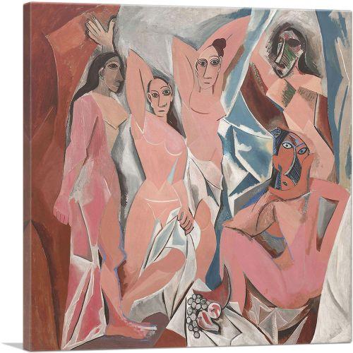 Les Demoiselles d'Avignon 1907