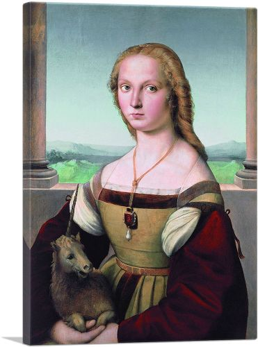 Portrait of a Lady with a Unicorn 1506