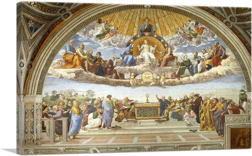 Disputation of the Holy Sacrament 1510