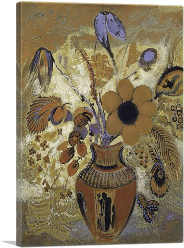 Etruscan Vase with Flowers 1910