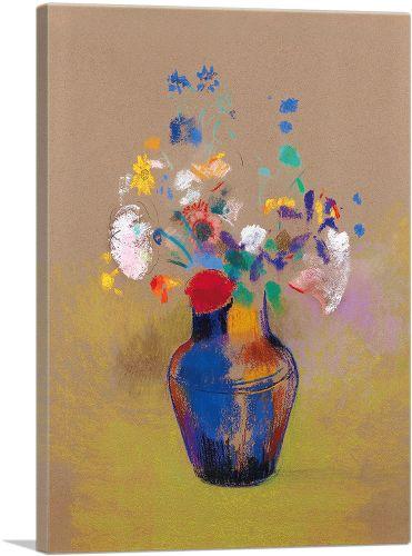 Fleurs Sur Fond Gris 1916