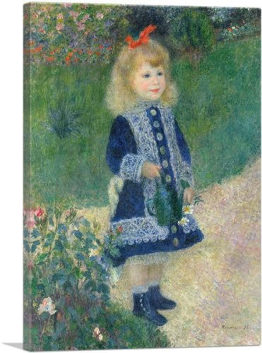 A Girl with a Watering Can 1876