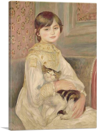 Child with a Cat 1887