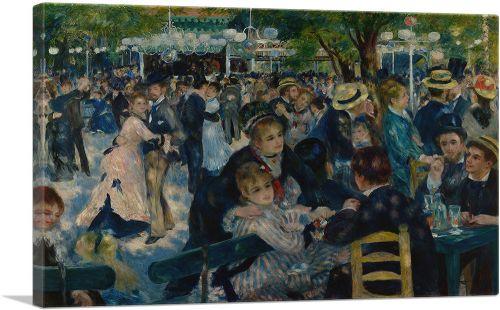 Dance at Le Moulin de la Galette 1876
