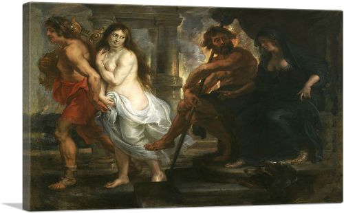 Orpheus and Eurydice 1638