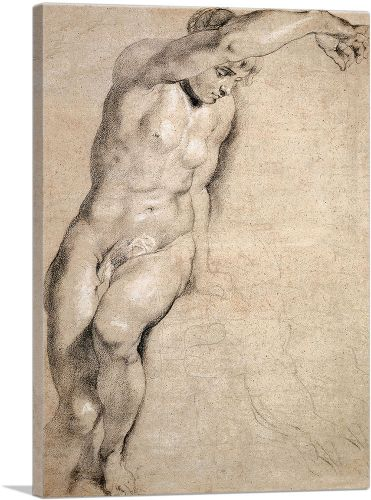 Portrait of Naked Woman
