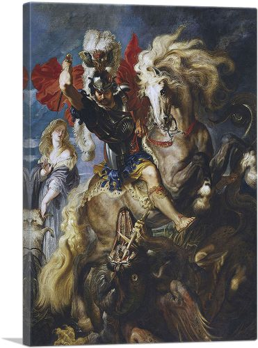 Saint George and the Dragon 1607