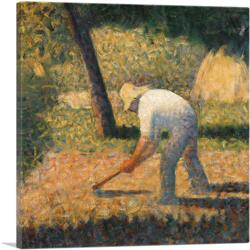 Peasant with Hoe 1882