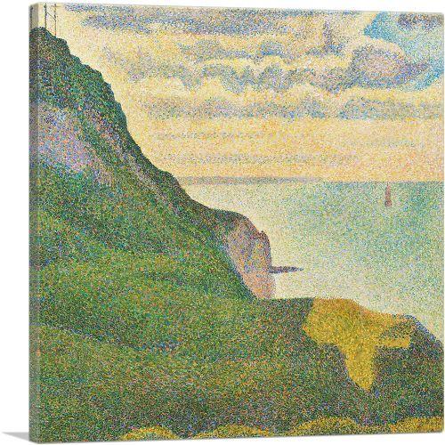 Seascape at Port-en-Bessin Normandy 1888