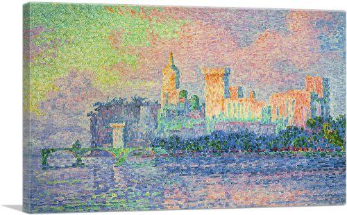 The Papal Palace - Avignon 1909