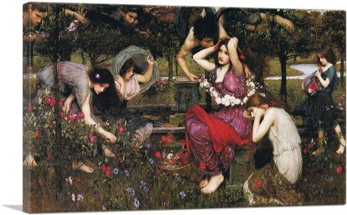 Flora and the Zephyrs 1897