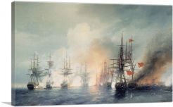Russian and Turkish Sea Battle of Sinop 1853