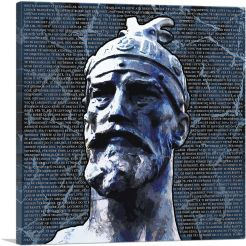 Skanderbeg - George Castriot Albania Bust National Anthem Navy