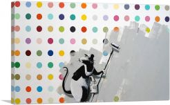 Rat Spots Banksy vs Hirst