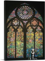 Graffiti Stained Glass