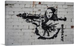 Mona Lisa With Rocket Launcher