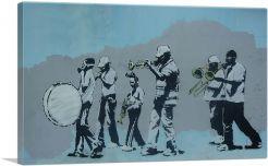 Gas Brass Band Musicians