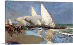 The Beach at Valencia 1908