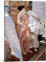 The Pink Robe - After the Bath 1916