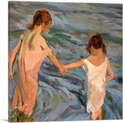 Children in the Sea - 1909