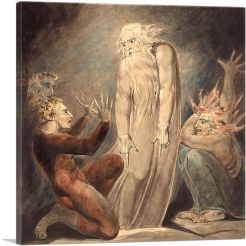 The Ghost of Samuel Appearing to Saul 1800