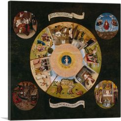 Seven Deadly Sins and the Four Last Things 1525