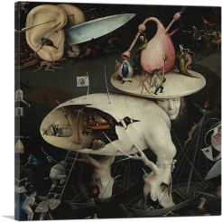 The Garden of Earthly Delights - Detail of Hell