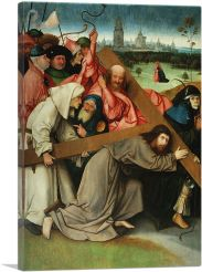 Christ Carrying The Cross-1-Panel-40x26x1.5 Thick