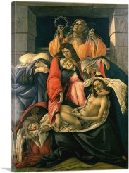 The Lamentation over the Dead Christ with Saints 1495