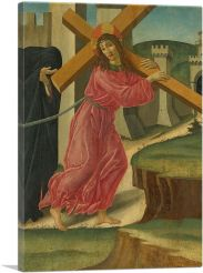 Christ Carrying The Cross 1490-1-Panel-60x40x1.5 Thick