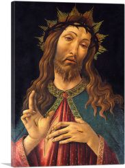 Christ Crowned With Thorns 1500-1-Panel-60x40x1.5 Thick