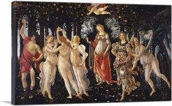 La Primavera Allegory of Spring 1482-1-Panel-60x40x1.5 Thick