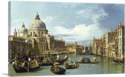 The Entrance To The Grand Canal - Venice 1730