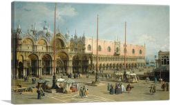 The Square of Saint Mark's - Venice