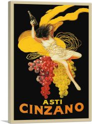 Asti Cinzano 1920-1-Panel-40x26x1.5 Thick