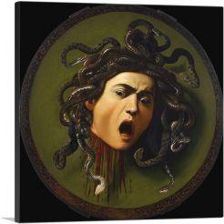 Medusa Sheild 1597 Black Background
