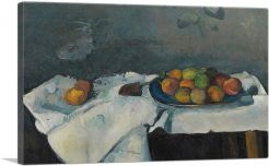 Still Life Plate of Peaches 1880