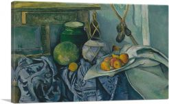Still Life with a Ginger Jar and Eggplants 1894