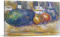 Still-Life with a Watermelon and Pomegranates 1906